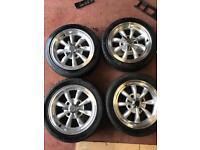 4 Empi beetle wheels
