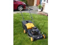 McCULLOCH PETROL LAWNMOWER BRIGGS AND STRATTON POWERED