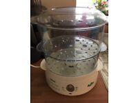 Tefal 2-tier Food Steamer Aqua Timer - good condition