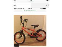 Boys bike 16inch wheel