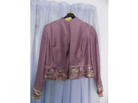 Fabulous CONDICI Silk 3-piece Mother-of-the-Bride Outfit. Brand New. Size 14.
