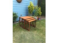 G Plan Quadrille nest of tables ( Vintage, Mid Century, retro, Teak )
