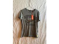 New Grey Super Dry T-Shirt