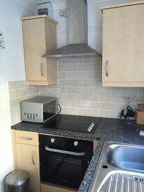 Lovely studio apartment with en suite and kitchen , wi fi and parking