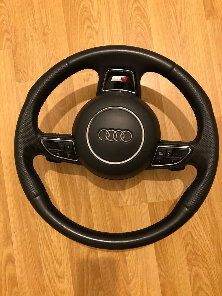 Audi A6 2014 steering wheel with airbag