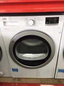 BEKO 8KG A++ Freestanding White Tumble Dryer DSX83410W