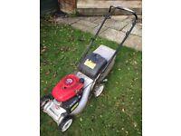 Lawn mower, Hedge Trimmer, Strimmer