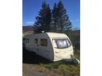 ARGENTE 2006 6 berth twin axel caravan WITH ELECTRIC MOVERS