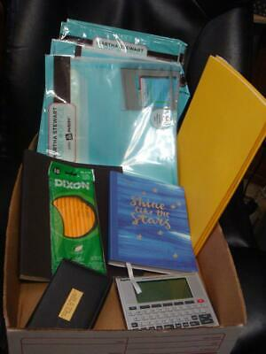 Office School Crafts Home Lot Notebook Binders Martha Stewart Franklin Spanish