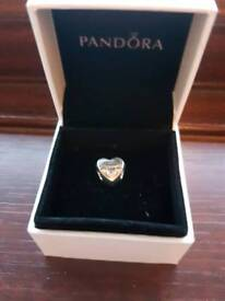 Genuine Pandora best friend charm and box