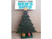Hand Crafted Painted Christmas Trees