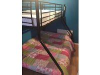 Bunk Bed - including quality fairly new mattresses - sleeps 3