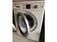 Bosch washing machine, large drum for big loads