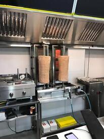 Fast food Pizza Kebab Burger shop To Let For Sale A5 catering business Nottingham
