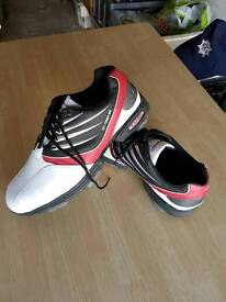 HI-TEC MEN'S GOLF SHOES SIZE UK 12 ONLY WORN TWICE ONLY £25 !!