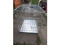 "Pet dog crate 24"" new and boxed"