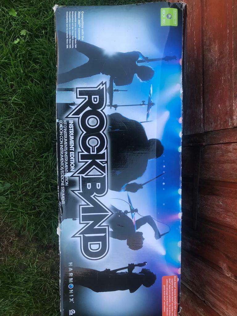 Rock band instrument edition xbox 360