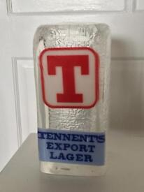 Tennents Beer Font