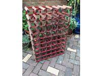 54 bottle wine storage rack