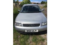 Spears or repairs silver Audi 1.8 v5