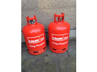 2 x 13Kg Calor Gas Bottles (1 is full and the other is half full)