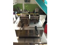 Buffalo double deep fat fryer x 2 (£180 each)