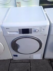BEKO 8KG CONDENSER HEAT PUMP DRYER A RECONDITIONED