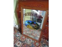 Very Large Vintage Southern Comfort Mirror