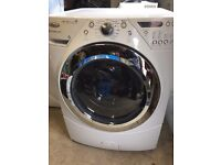 Whirlpool washing machine, ideal for a large family, or light commercial use. 10Kg, 1200rpm spin.