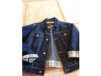 childrens burberry jacket