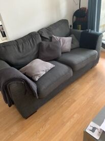 Grey sofa - good condition