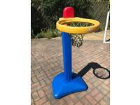 Children's Adjustable Basketball Net/Hoop