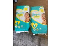 pampers 2 packs size 3