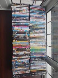 100 DVD's- bundle