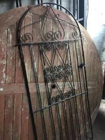 well built tall side entrance gate £40 WIGAN RECLAIMED GATES & RAILINGS