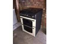 HOTPOINT CANNON Cooker Gas Range Double Oven