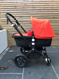 Bugaboo Chameleon 3 - Black chassis in great condition, with all extras!!