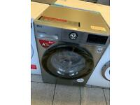 Jd379 LG 9kg silver washing machine new/graded comes with 2 years manufacturers guarantee