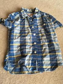 Boys Fat Face Shirt aged 6-7 years