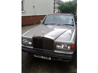 Rolls Royce for sale ideal for restoration project. MOT till May 2019.