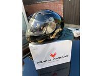 Full faced crash helmet frank Thomas £25