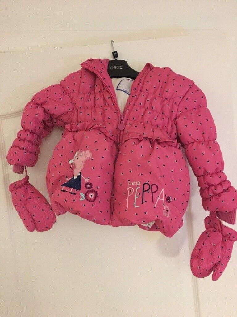 1fbef9e18 Peppa pig coat 18-24 months | in Whitnash, Warwickshire | Gumtree
