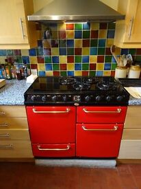 Belling farmhouse gas and electric cooker