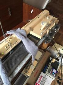 Brother 950i knitting machine ribber and loads more