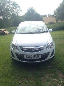 2012 Vauxhall Corsa 1.4 Active, 3 Door, Low Mileage, 12 Months MOT