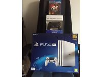 NEW UNOPENED ps4 pro+extra controller+game