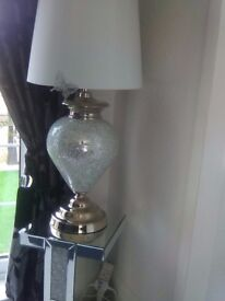 Two large table lamps excellent condition