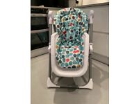 Spotty Mamas and Papas high chair