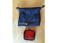 GoPro Red dive filter for the Hero 3/3+/4 dive housing