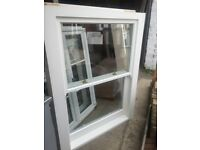 Bespoke wooden sash window (as new)